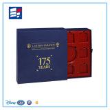 Doces do cartão & caixa rígidos personalizados alta qualidade do chocolate com inserção