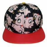 El visera plano de la gorra de béisbol del Snapback se divierte el casquillo y el sombrero del estilo de Hiphop