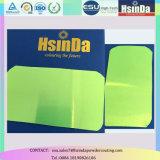 Capa verde fluorescente del polvo de la categoría alimenticia del caramelo transparente