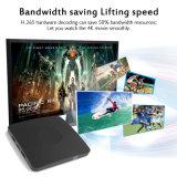 USB 2GHz do Android 6.0 HDMI WiFi da caixa 2g/8g da tevê do jogador de multimédios 4k da caixa da tevê de Smartbox S905X