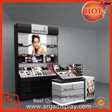 Muebles cosméticos de madera modernos del departamento del maquillaje del diseño de los dispositivos calientes del almacén