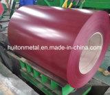 Покрынная цветом катушка цинка стальная (PPGI и PPGL)