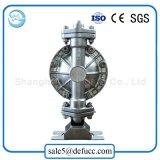 Qbk 15mmのステンレス鋼の空気によって作動させるダイヤフラムポンプ