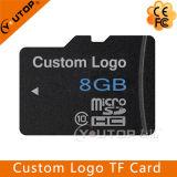 Tarjeta de memoria micro de encargo de la insignia C10 Microsd SD TF 4-128GB