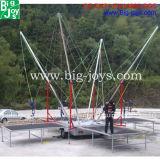 Hete het Springen van Bungee van de Verkoop Trampoline, Commerciële Volwassen Trampoline Bungee