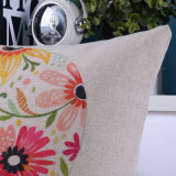プリントは18インチの正方形の枕居間のための装飾的覆う