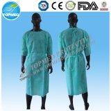 Vestidos cirúrgicos reforçados não tecidos de Diaposable