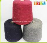 Lanas únicas del estilo e hilado mezclado de acrílico para la bufanda que hace punto