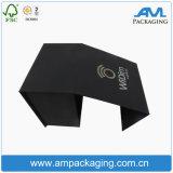 Rectángulo de papel de empaquetado del cigarro de lujo de encargo para la presentación del tabaco con el encierro magnético