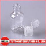 Frasco plástico Shaped liso vazio do animal de estimação 40ml