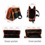Os multi bolsos Waterproof a maleta de ferramentas do jogo do eletricista do caso do armazenamento