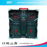 SMD2121 la pantalla 1r1g1b del alquiler LED de aluminio a presión la luz HD P4.81 de la fundición ultra