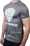T-shirt fait sur commande d'impression d'écran de coton de bonne qualité pour les hommes