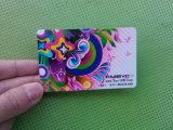 Imprimante en plastique UV de petite taille de carte de DEL
