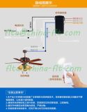 Interruttore di telecomando di RoHS del Ce per la lampada del ventilatore di soffitto