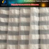 La tela más nueva de la alineada de 2017 mujeres, poliester/tela cruzada de la raya del algodón 2 cm