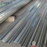 Decking galvanizzato del pavimento d'acciaio di basso costo per l'edificio d'acciaio di Strucutre