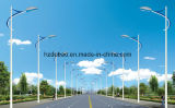 Illuminazione palo esterna galvanizzata della via