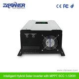 инвертор Hybird регулятора пользы MPPT дома волны синуса высокого качества 24V/48V 5000W чисто солнечный