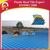 Telhadura trapezoidalmente estável da cor UPVC da alta qualidade