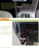 FM Bluetooth 차 마운트를 가진 핸즈프리 차 장비