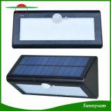 Indicatore luminoso solare di obbligazione, indicatore luminoso a energia solare esterno del sensore di movimento dei 38 LED con 3 illuminazione solare di modi IP65 per il patio del portico ed iarda