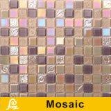 壁の装飾の潮風シリーズ(海B01/B02/B03/B04)のための熱い販売浜様式4mmのクリスタルグラスのモザイク