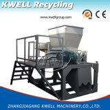 Machine en plastique de bonne qualité de broyeur d'arbre des prix/perte de défibreur double