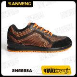 S1p SrcのオレンジKpuのトレーナーの安全靴
