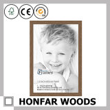 Frame de retrato de madeira natural da hospitalidade para a decoração do hotel
