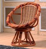 Stile di svago delle presidenze di parte girevole della mobilia del rattan per l'hotel e la casa