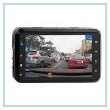 Registrador do automóvel do indicador de 3 polegadas com câmara de vídeo