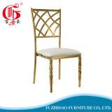 Gold-Plated 패턴 02 스테인리스 의자 식사