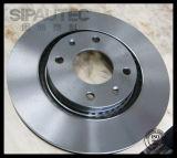 Rotor avant solide de frein à disque Df1217 pour Citroen (424689)