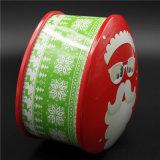 OEM het Blik van het Tin van Kerstmis van de Reeks voor het Voedsel van de Verpakking (T001-V8)