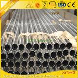 Fabricante de aluminio que suministra el tubo redondo de aluminio anodizado del tubo de aluminio