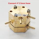 メートルを弱める歯科椅子圧力安全弁の圧力計フィルター