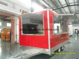 De commerciële Aanhangwagen van de Catering van de Pizza voor Verkoop