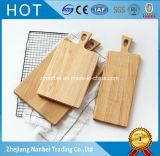 Tajadera de madera de la tarjeta de corte del roble sin pintar de encargo