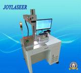 Автоматическая Поднимать-Понижая машина маркировки лазера волокна 360 градусов вращая