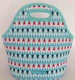 El bolso del almuerzo del salto/el bolso del almuerzo del salto del aislante del rectángulo/del estudiante del bolso puede ser modificado para requisitos particulares