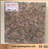 자연적인 돌 다이아몬드 화강암을%s 황금 색깔 부엌 석판