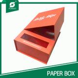 Коробка твердой волокнистой плиты упаковывая бумажная для волос