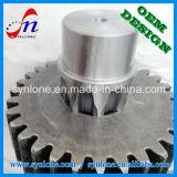 CNC подвергая отростчатую стальную шестерню механической обработке глиста шпоры