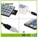 RGBW IP65 imprägniern die Farbe, die SMD 5050 2835 12V 220-240V flexibles LED Streifen-Licht mit Ferncontroller ändert