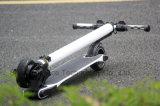 2016新製品カーボンファイバーの電気スクーターの軽量の電気スクーター