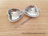 中心の形の高品質のステンレス鋼の銀の茶Infuser