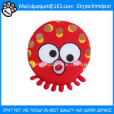 Perro Folleto juguetes para mascotas Frisbee caucho natural Folleto Juguetes
