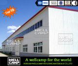 Taller ampliamente utilizado de la estructura de acero de Wellcamp