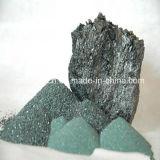 Keramisches Cuttingceramic, das grünes Silikon-Karbid-Puder schneidet